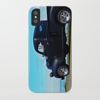 fargo iPhone & iPod Cases featuring Cruising the Waterfront in the old Fargo by DanByTheSea