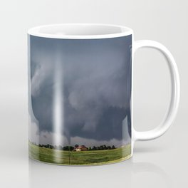Twins - Two Tornadoes Touch Down Near Dodge City Kansas Coffee Mug