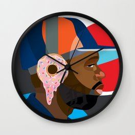 James DeWitt Tribute Wall Clock