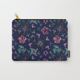 Exploding Stars and Flowers Carry-All Pouch
