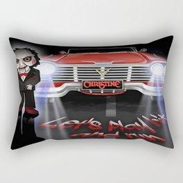 Lets play hit and run Rectangular Pillow