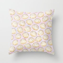 Anise Cookie Pattern (PASTEL) Throw Pillow