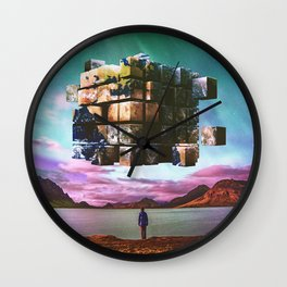 A Complicated Puzzle Wall Clock