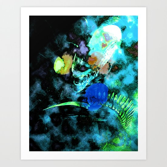 Far and away Art Print