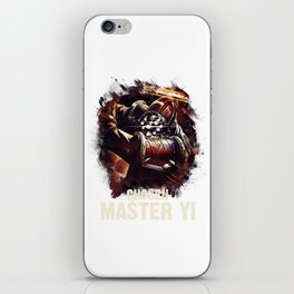 League of Legends CHOSEN MASTER YI iPhone Skin