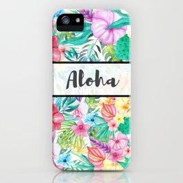 Aloha iPhone Case