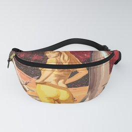 Retro Girl Fanny Pack