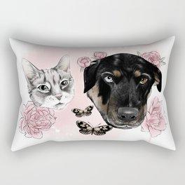 tigars+rosie Rectangular Pillow