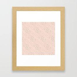 Diamond Dancers Framed Art Print