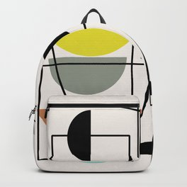 "Mid Century Modern ""Bowls"" Backpack"