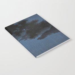 Boat with Lantern Beneath Shubi Pine Notebook