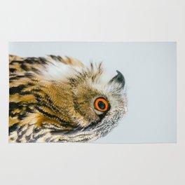 Eurasian Eagle Owl Rug