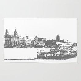 Ferry across the Mersey Rug