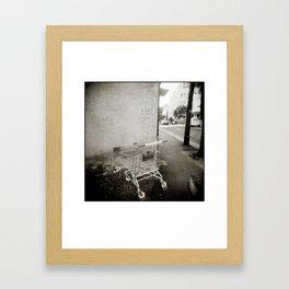 { lost } Framed Art Print