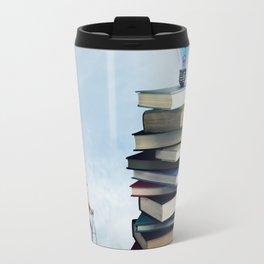 a climb to knowledge Travel Mug