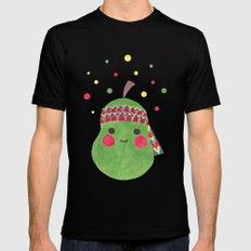 Hippie Pear Mens Fitted Tee Black MEDIUM