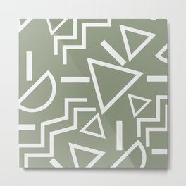 Shapes- lost and found Metal Print