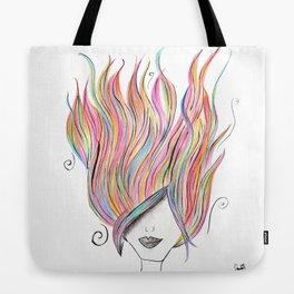 365 cabelos - 365 colors Tote Bag