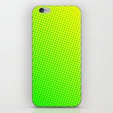80's grade green iPhone & iPod Skin