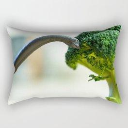 Dinosaur & Broccoli Rectangular Pillow