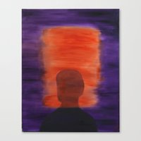 rothko Canvas Prints featuring Rothko Homage by ElGlasgow