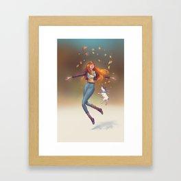 Fall Mood Framed Art Print