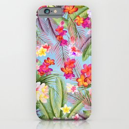 Tropical Hawaii iPhone Case