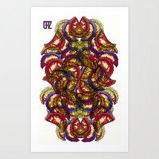 Empanadas Pattern #2 Art Print
