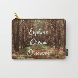 Explore. Dream. Discover. Carry-All Pouch