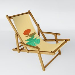 Go West (sail away in my boat) Sling Chair