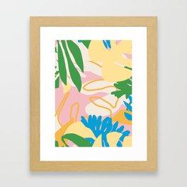 Floral Mix Framed Art Print