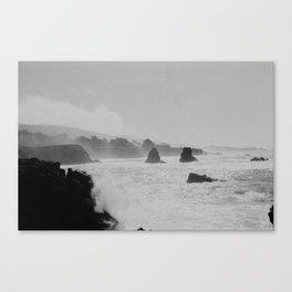 Misty Cliffs of the Soul Canvas Print