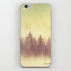 Winter's Journey  iPhone & iPod Skin