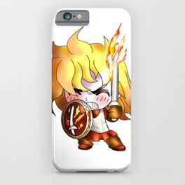 dnd cleric, follower of the forgotten realms god tempus iPhone Case