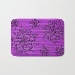Flowerz Bath Mat