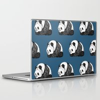 pandas Laptop & iPad Skins featuring Pandas by Diana Hope