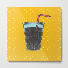 Summer Soda Metal Print
