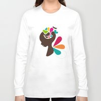 child Long Sleeve T-shirts featuring Child by Irmak Akcadogan