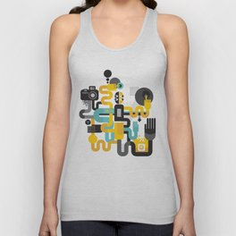The photographer. Unisex Tank Top