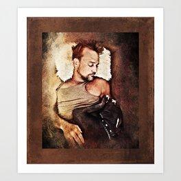 Flanery and Tex Art Print