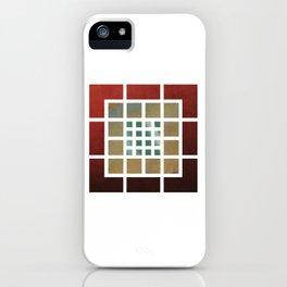 Grid Grid Grid iPhone Case