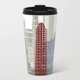 Havana V2 skyline poster Travel Mug