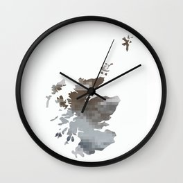 The land they call Scotland Wall Clock