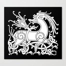 Ringerike Style Ornament IV Canvas Print