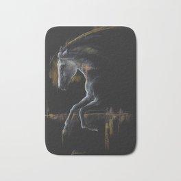 Andalusian horse art Bath Mat