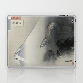 Dragon Rising to the Heavens at Mount Fuji by Ogata Gekko Laptop & iPad Skin