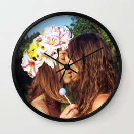 Here Today, Gone Tomorrow  Wall Clock