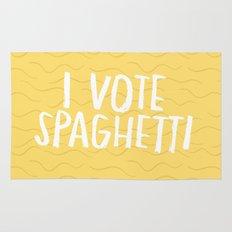 I Vote Spaghetti Rug