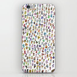 Animal Crossing New Leaf All Villagers iPhone Skin