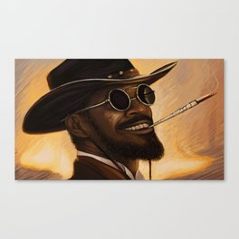 Django - Our newest troll Canvas Print